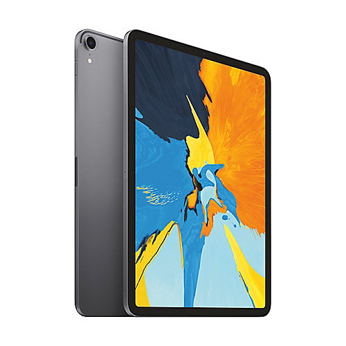 Apple iPad Pro 11'' 2018 Wi Fi 1 TB Space Grau MTXV2FD A auf Rechnung bestellen
