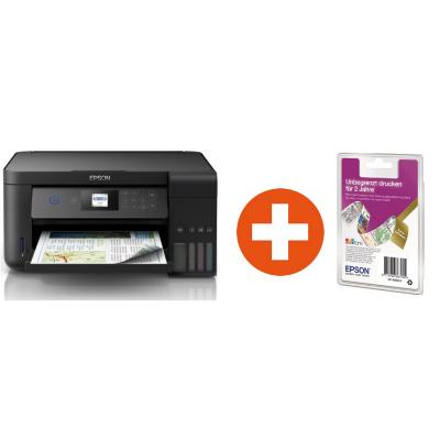 Epson  EcoTank ET-2750 Multifunktionsdrucker + 2 Jahre unbegrenzt drucken* | 8715946642888