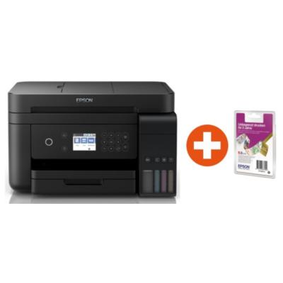 Epson  EcoTank ET-3750 Multifunktionsdrucker + 2 Jahre unbegrenzt drucken* | 8715946642833