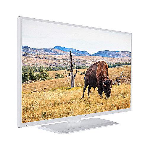 JVC LT 40V55LWA 102 cm 40'' Smart Fernseher weiss auf Rechnung bestellen