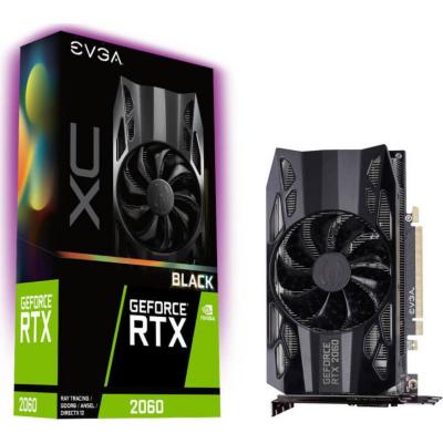 Evga  GeForce RTX 2060 XC Black 6GB GDDR6 Grafikkarte DP/HDMI/DVI | 4250812431721
