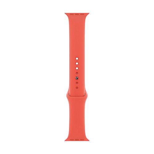 Apple Watch 44mm Sportarmband Nektarine S M M L MTPQ2ZM A auf Rechnung bestellen