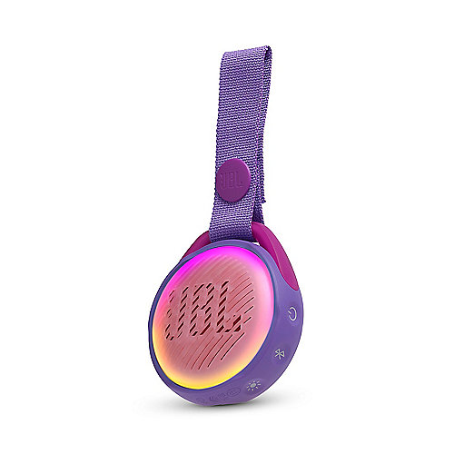 JBL JR Pop purple Tragbarer Bluetooth-Lautsprecher f. Kinder wasserdicht IPX7