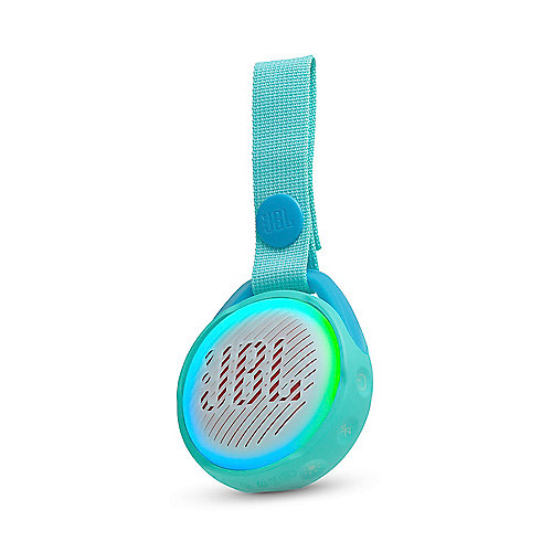 JR Pop teal Tragbarer Bluetooth-Lautsprecher f. Kinder wasserdicht IPX7 | 6925281944833