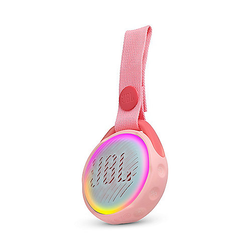JBL JR Pop pink Tragbarer Bluetooth-Lautsprecher f. Kinder wasserdicht IPX7