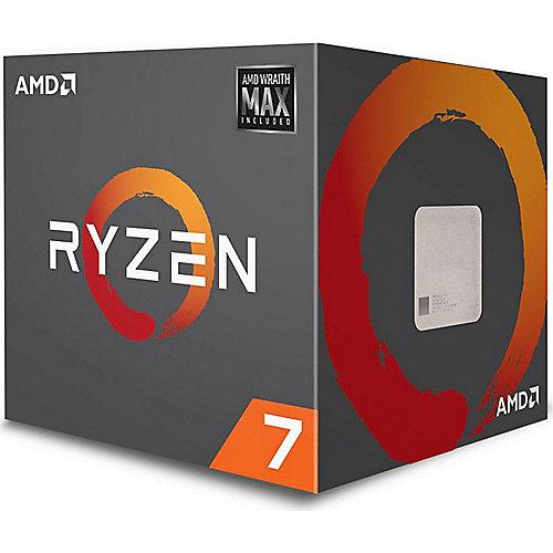 AMD Ryzen R7 2700 MAX (8x 3,2GHz) 20MB Sockel AM4 CPU Boxed (Wraith Max LED)
