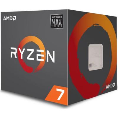 AMD  Ryzen R7 2700 MAX (8x 3,2GHz) 20MB Sockel AM4 CPU Boxed (Wraith Max LED) | 0730143309455