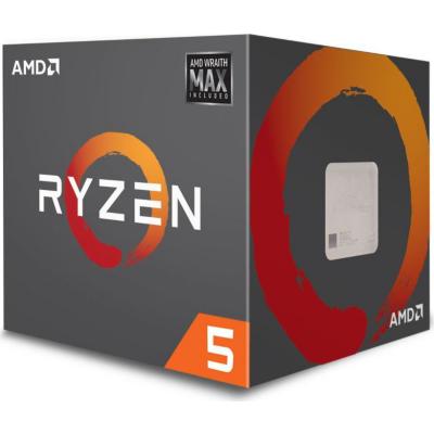 AMD  Ryzen R5 2600X MAX (6x 3,6GHz) 19MB Sockel AM4 CPU Boxed (Wraith Max Kühler) | 0730143309479