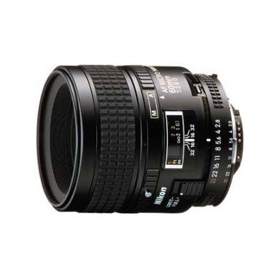 Nikon  AF Micro-Nikkor 60 mm f/2,8D Makro-Objektiv   0018208019878