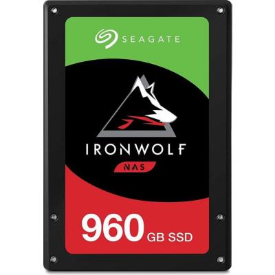 Seagate  IronWolf 110 SSD 2,5″ 960GB SATA 6GB/s + 2 Jahre  Rescue | 8719706013451