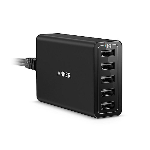 Anker AK-A2124312 PowerPort 5 Black