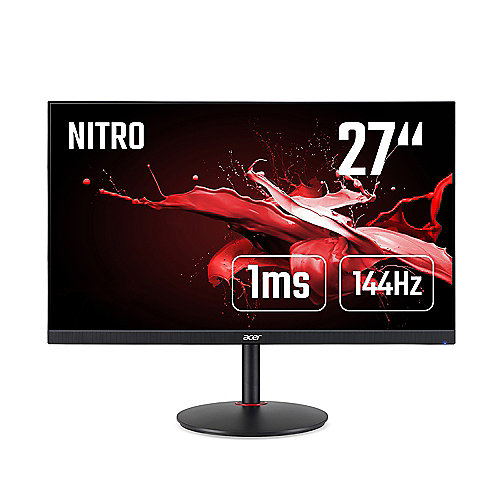 "ACER Nitro XV272UP 69 cm (27"") WQHD Gaming-Monitor 144Hz HDMI/DP AMD FreeSync"
