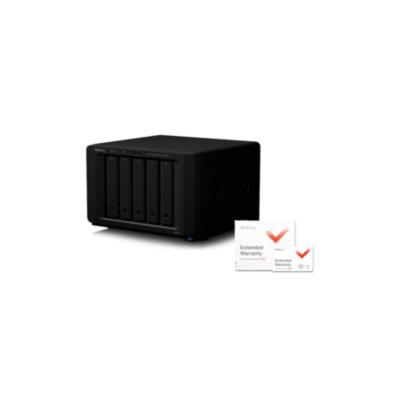 Synology  Diskstation DS1517+-2G NAS System 5-Bay – 5 Jahre Garantie | 4711174722648