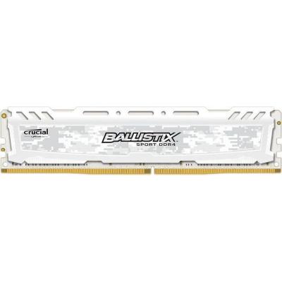 Ballistix 16GB  Sport LT Weiss DDR4-3000 CL15 (15-16-16) RAM Speicher | 0649528788696