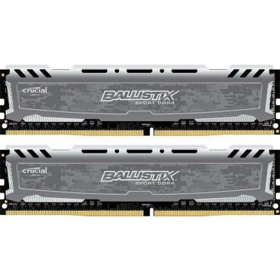 Ballistix 16GB (2x8GB)  Sport LT Grau DDR4-3000 CL15 (15-16-16) RAM Kit | 0649528788764