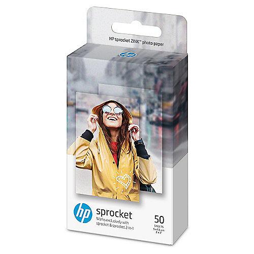 Sprocket ZINK Fotopapier mit selbstklebender Rückseite 50 Blatt 5 x 7,6 cm | 0190781150503