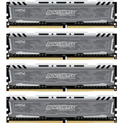 Ballistix 32GB (4x8GB)  Sport LT Grau DDR4-3200 CL16 (16-18-18) RAM Kit | 0649528789136