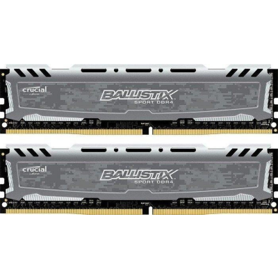 Ballistix 32GB (2x16GB)  Sport LT Grau DDR4-3200 CL16 (16-18-18) RAM Kit | 0649528789143
