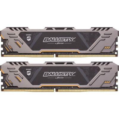Ballistix 16GB (2x8GB)  Sport AT DDR4-3200 CL16 (16-18-18) RAM Kit | 0649528789242