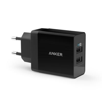 Anker  2-Port USB Ladegerät 24 W schwarz inkl. Micro-Kabel | 0848061038927