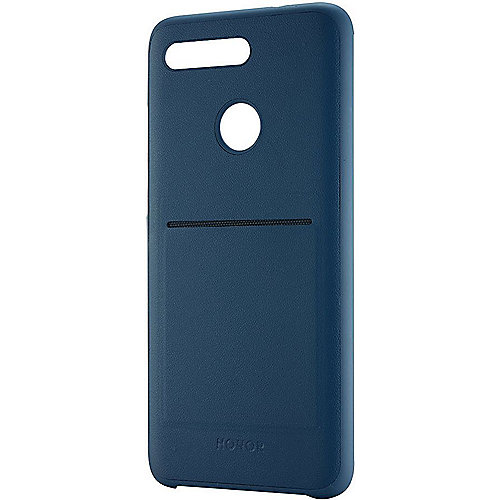 Honor View 20 - PU Thicknessing Protective Cover, Blue