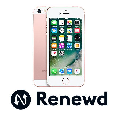 Apple iPhone SE 32 GB Roségold Renewd auf Rechnung bestellen