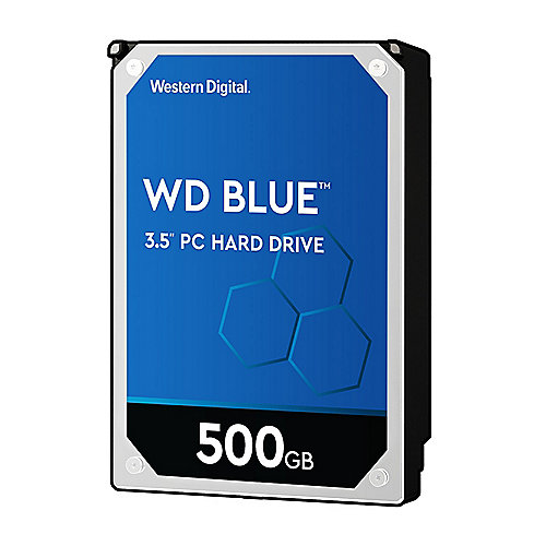 WD Blue WD5000AZRZ - 500GB 5400rpm 64MB 3.5zoll SATA600