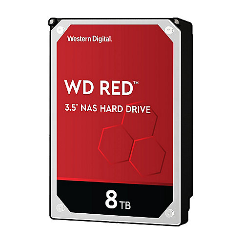 WD Red WD80EFAX - 8TB 5400rpm 256MB 3.5zoll SATA600