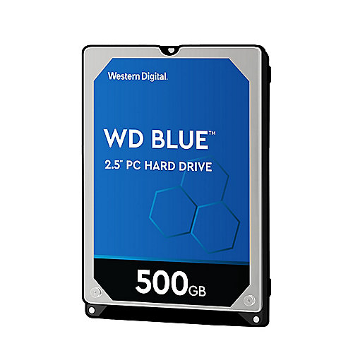 WD Blue WD5000LPCX - 500GB 5400rpm 16MB 2.5zoll - SATA600