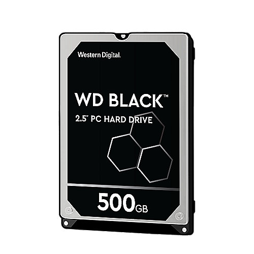 WD Black WD5000LPLX - 500GB 7200rpm 32MB 2.5zoll - SATA600