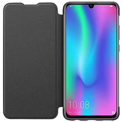 Honor Flip Cover für Honor 10 Lite, schwarz