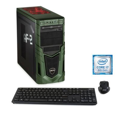Hyrican  Military Gaming 6167 i7-8700 16GB/1TB 240GB SSD RX580 Windows 10   4045643061670