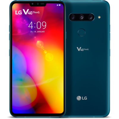 LG  V40 ThinQ 128GB moroccan blue Android 8.1 Smartphone | 8806087036565
