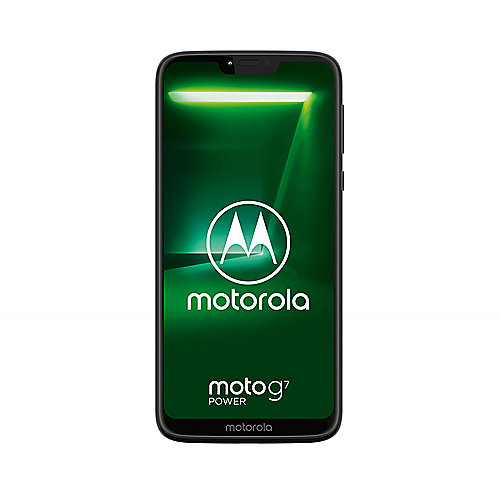 Motorola Moto G7 Power ceramic black Android 9.0 Smartphone