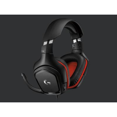Logitech Gaming Logitech G332  Kabelgebundenes Stereo Gaming Headset Schwarz | 5099206081963