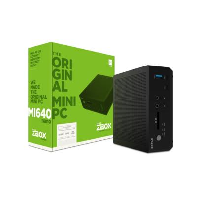 ZOTAC ZBOX MI640NANO-BE Barebone i5-8250U 0GB 0GB SSD WLAN BT HDMI DP Intel HD