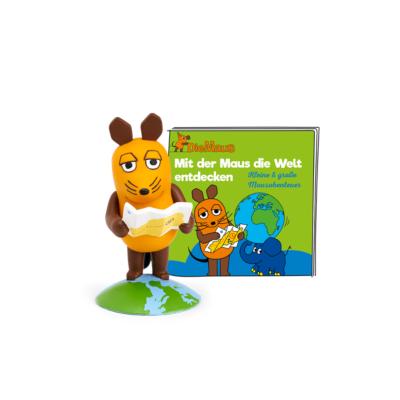 Boxine GmbH Tonies Hörfigur Die Sendung mit der Maus – Mit der Maus die Welt entdecken | 4251192106520