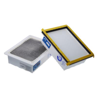Cyberport Clean Office Feinstaubfilter 150 x 120 mm für Laserdrucker (2 Stück) | 4004060020509