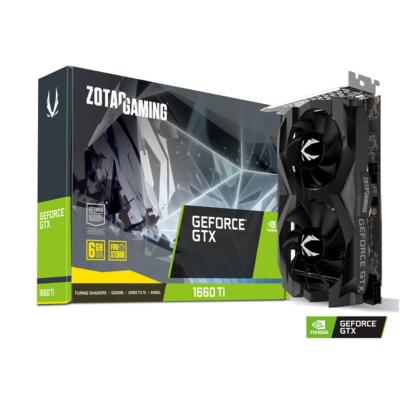 ZOTAC GAMING GeForce GTX 1660Ti Twin Fan 6GB GDDR6 Grafikkarte HDMI 3xDP