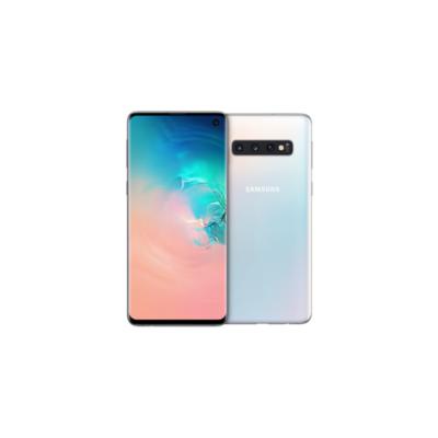 Samsung GALAXY S10 prism white G973F 128 GB Android 9.0 Smartphone auf Rechnung bestellen