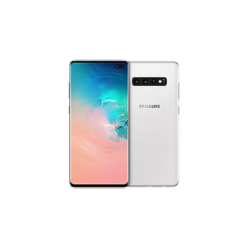 Samsung GALAXY S10+ ceramic white G975F 1 TB Android 9.0 Smartphone