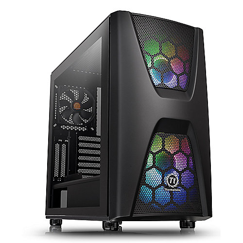 Thermaltake Commander C34 TG ARGB Black
