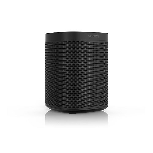 Sonos ONE schwarz kompakter Multiroom All-in-One Smart Speaker