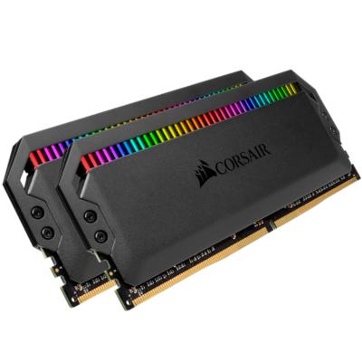 Corsair 32GB (4x8GB)  Dominator Platinum RGB DDR4-3200 RAM CL16 (16-18-18-36) Kit | 0840006609476