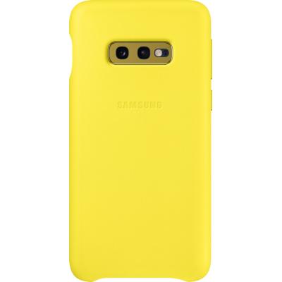 Samsung  Leather Cover EF-VG970 für Galaxy S10e, Gelb | 8801643644574
