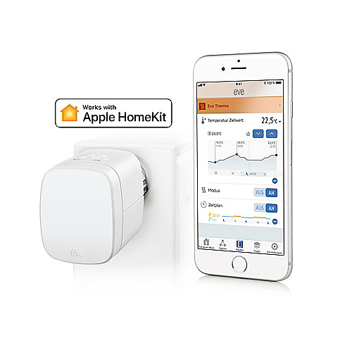 Eve Thermo Heizkörperthermostat für Apple HomeKit