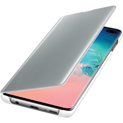 Samsung  Clear View Cover EF-ZG975 für Galaxy S10+, Weiß | 8801643651268