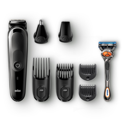 Braun  MGK 5060 MultiGrooming Kit 8-in-1-Trimmer schwarz/grau | 4210201216353