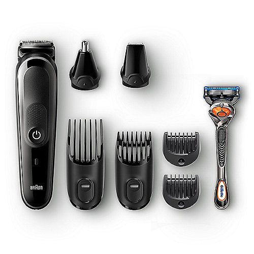 Braun MGK 5060 MultiGrooming Kit 8-in-1-Trimmer schwarz/grau