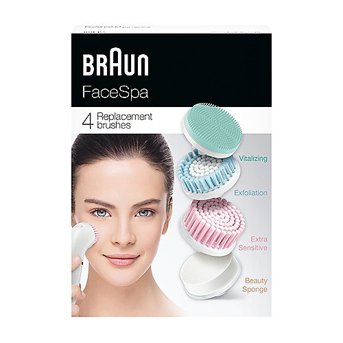 Braun Face SE80mv Aufsatz-Mix 4er Pack